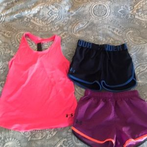 Bundle of Girls Size Small Under Armour